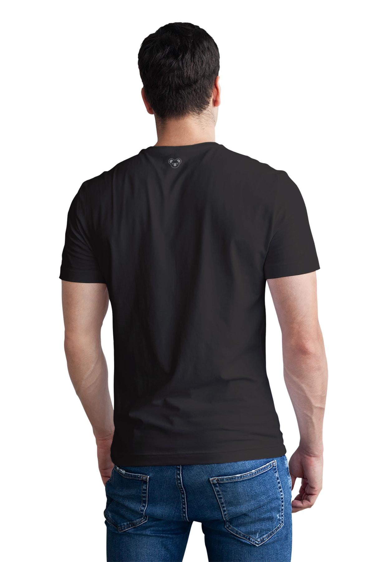 Koala Erkek Siyah T-Shirt CET001SCORVO 2