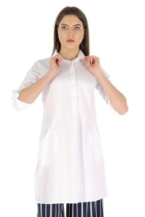 Carlamia Gömlek Yaka Kol Patlı Tunik
