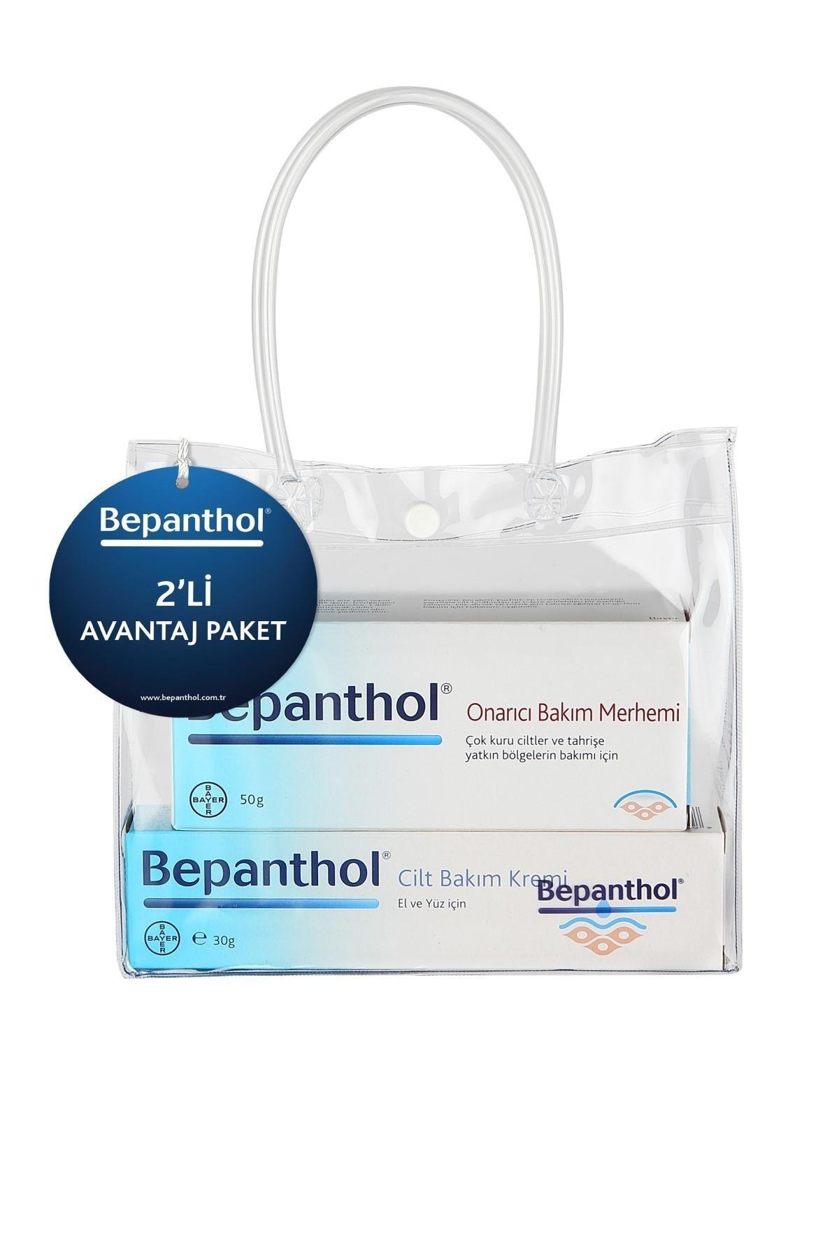 Bepanthol Onarıcı Bakım Kremi 50 g + Cilt Bakım Kremi 30 g 8699546358687