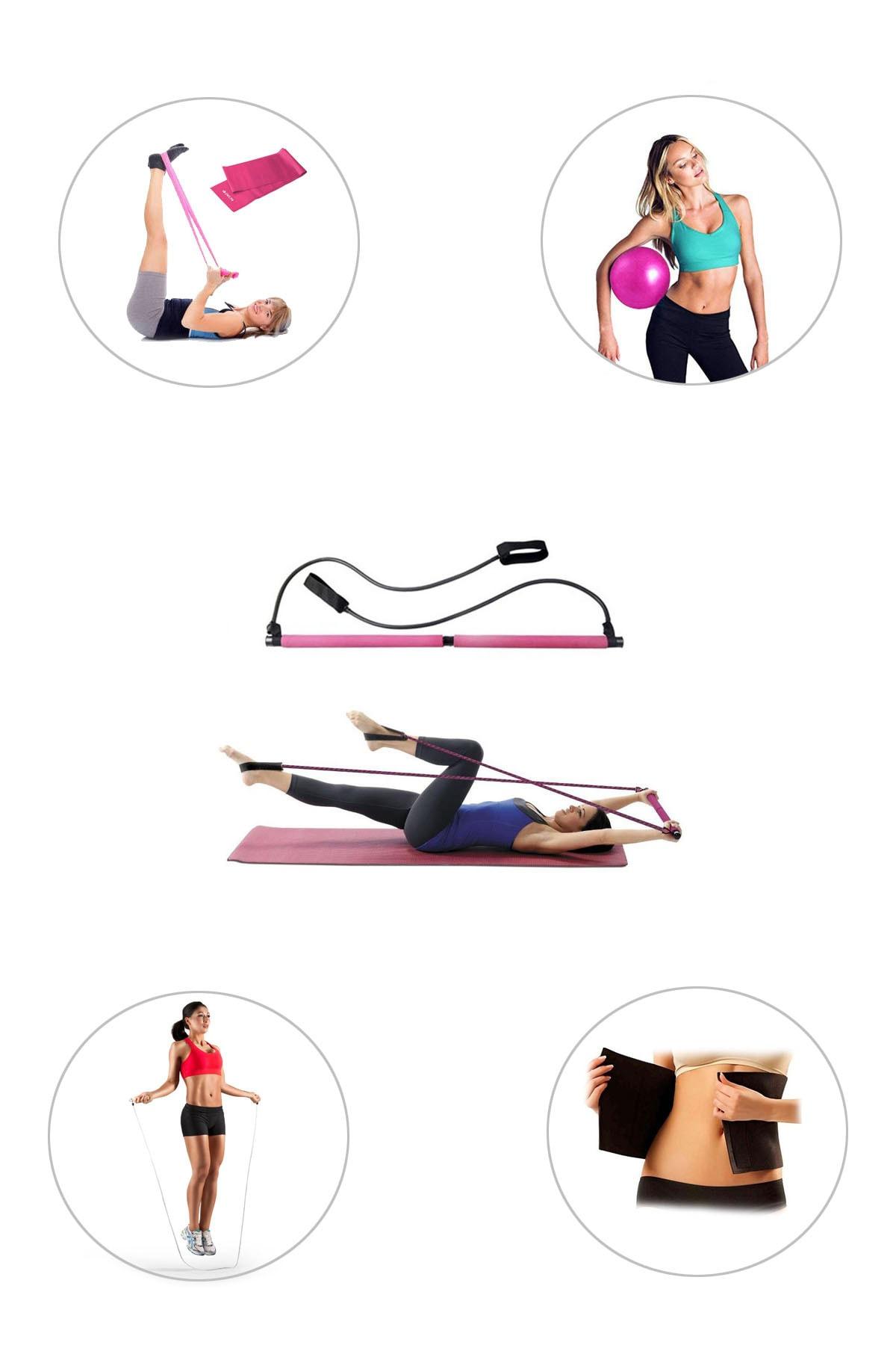 Spor Byfit Portable Studio Pilates Seti