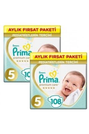 Prima Premium Care 5 Numara 108 Li 2 Paket 216 Adet