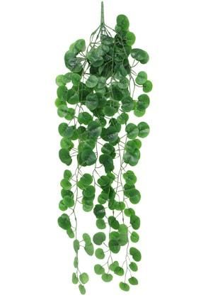 Yapay Çiçek Deposu Islak Dokulu Sarkan Sarmaşık 9 Dal Yuvarlak Model 100 cm