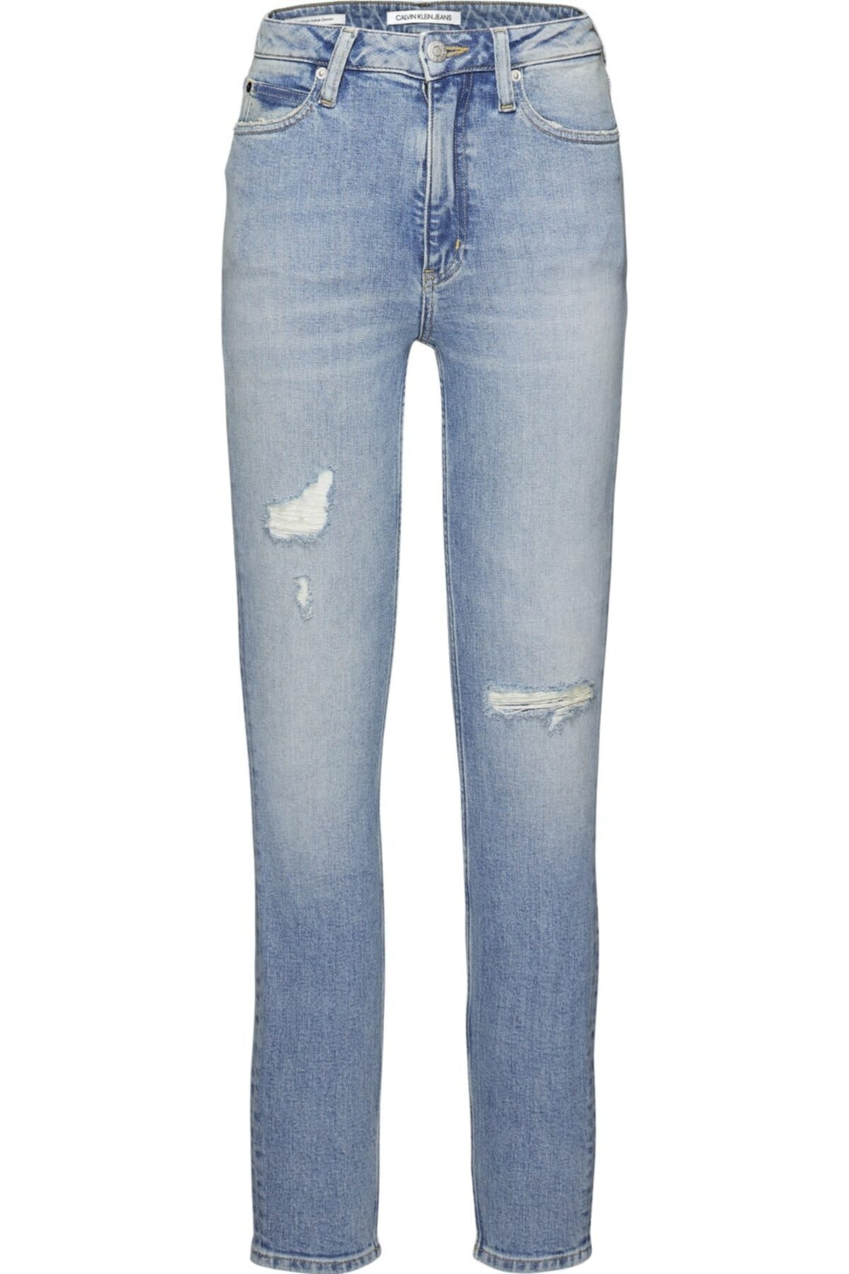 Calvin Klein J20j207627 Unisex Mavi  Pantolon 1