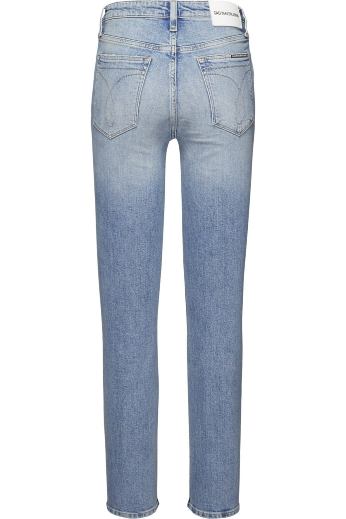 Calvin Klein J20j207627 Unisex Mavi  Pantolon 2