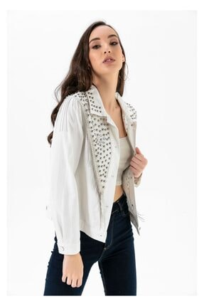 Tiffany A0224 Taşlı Ve Püsküllü Ceket
