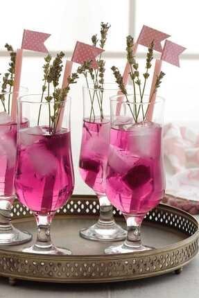 LAV 6'lı Kokteyl Limonata Bardağı Nevakar