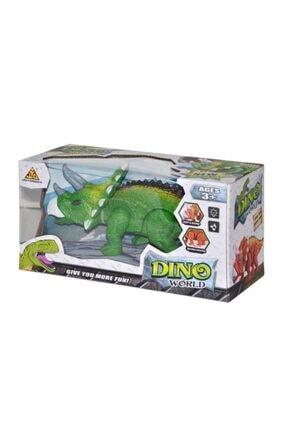 Asya Yürüyen Oyuncak Dinozor Sesli Işıklı Hareketli 25 cm