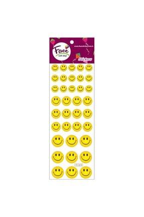 Face Sticker Gülen Yüz 7 Adet