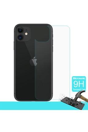 Microsonic Apple Iphone 11 (6.1'') Arka Temperli Cam Ekran Koruyucu