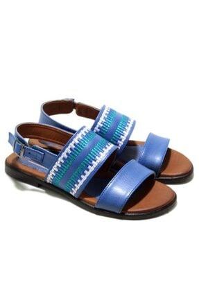 MP Kadın Yazlık Mavi Sandalet