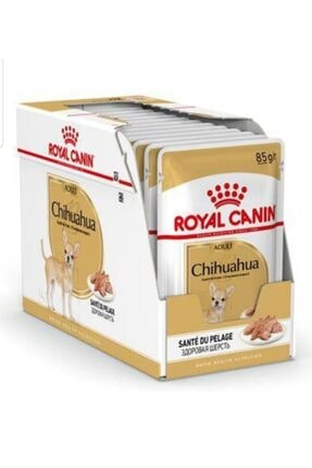 Royal Canin Chihuahua Adult Pouch Konserve Köpek Maması 12x85 g