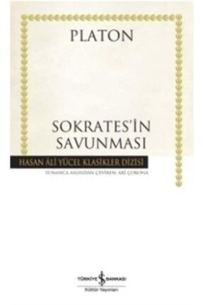 İş Bankası Kültür Yayınları Sokrates'in Savunması Karton Kapak