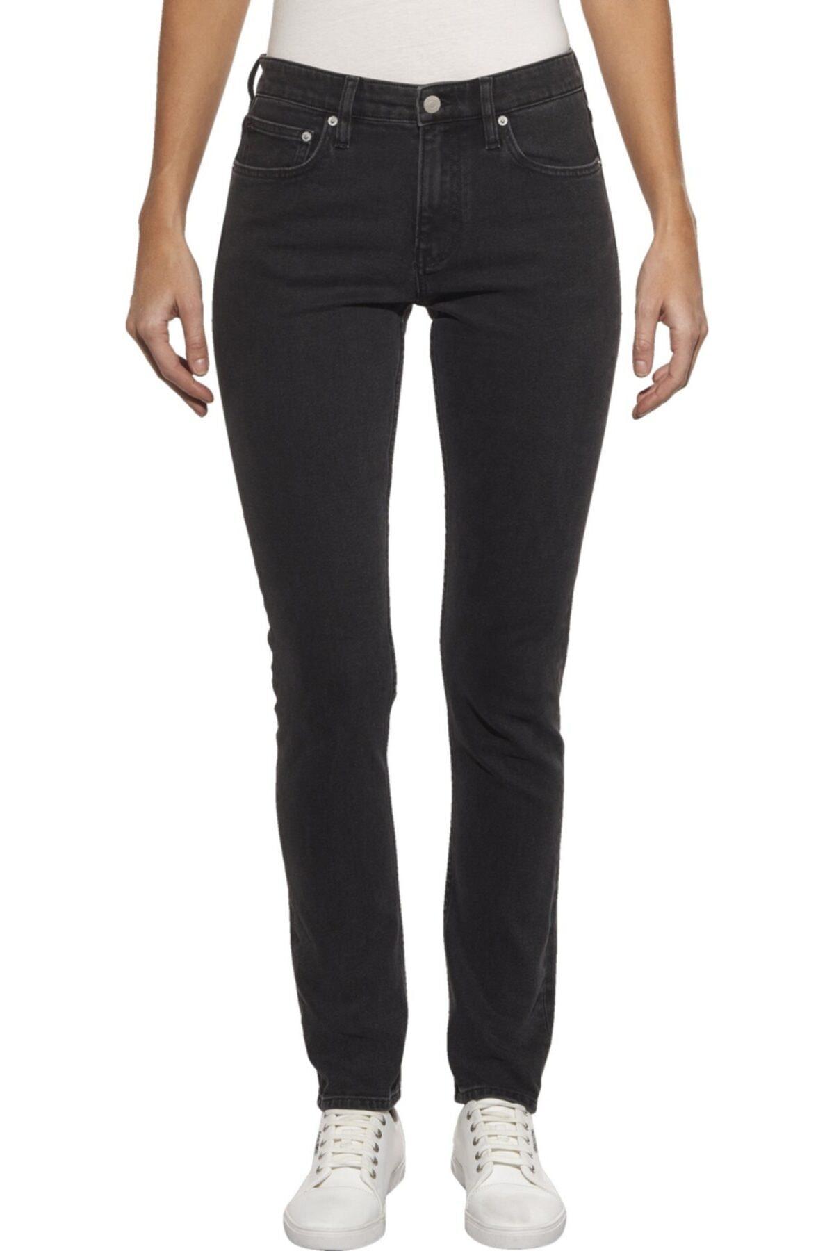 Calvin Klein Kadın Siyah Pantolon J20j208930 1