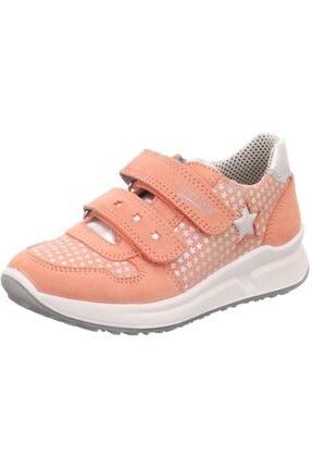 Superfit Kız Çocuk Süet Tekstil Spor Ayakkabısı