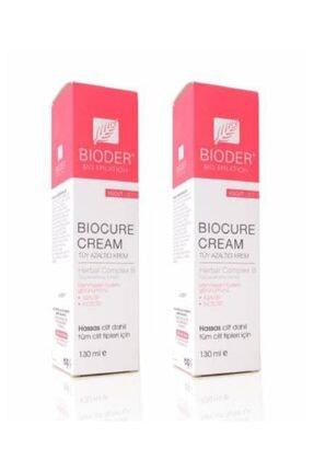 Bioder Tüm Ciltler Için Tüy Azaltıcı Krem 130 ml 2 Adet