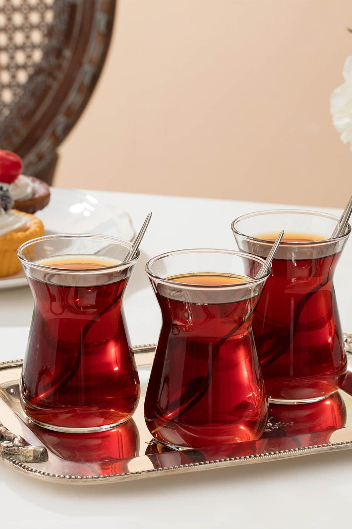 Madame Coco Francessa 6'lı Çay Bardağı Seti 1