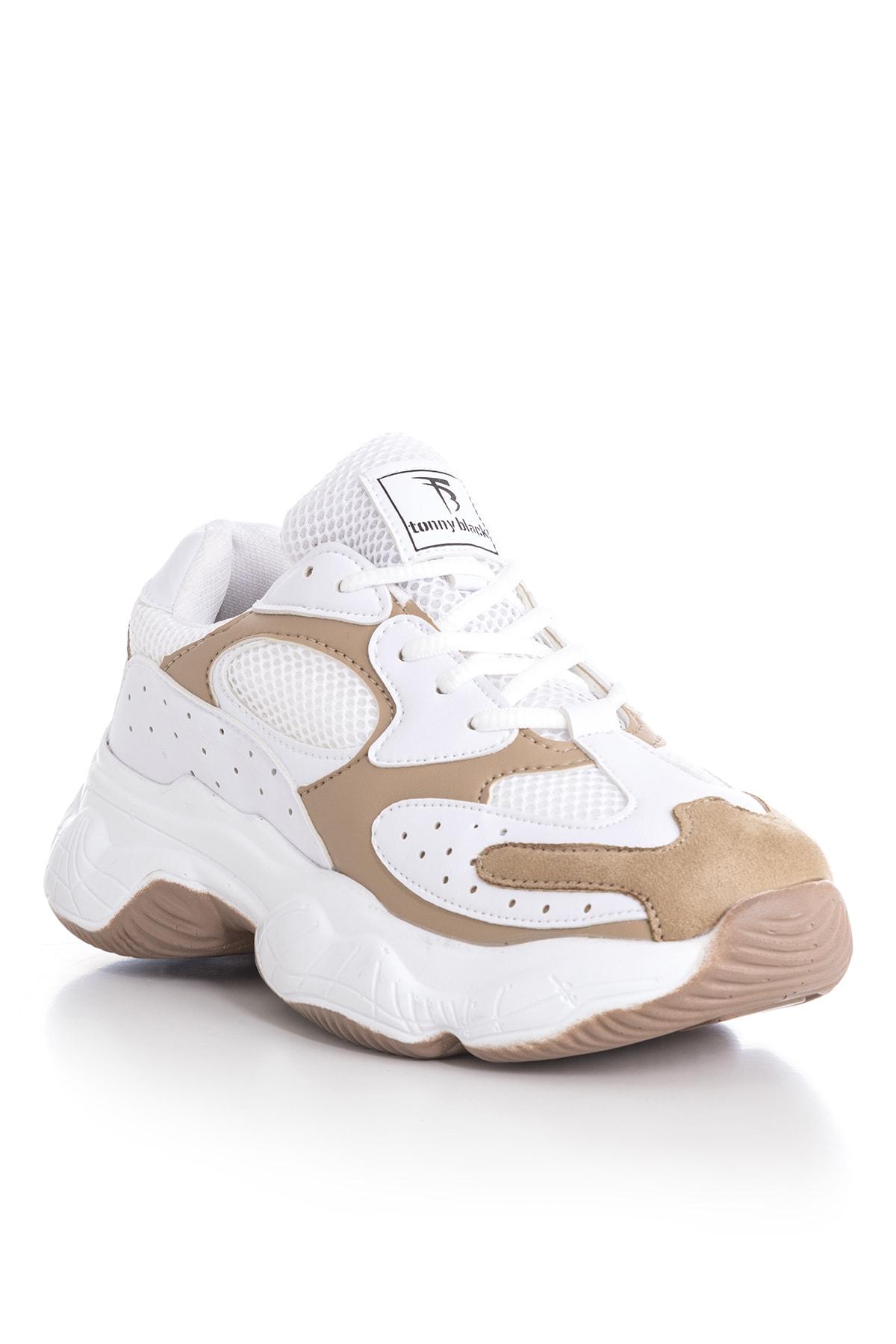 Tonny Black Bayan Spor Ayakkabı Beyaz Toprak Tb284 -> 38 -> Beyaz Toprak 2