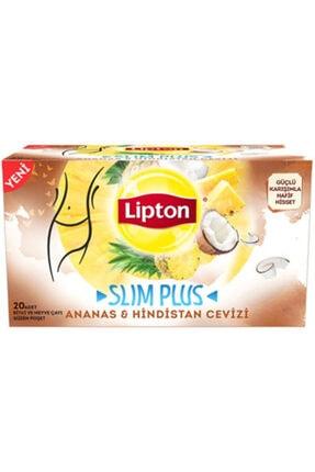 Lipton Slım Plus Ananas ve Hindistan Cevizi Çayı 20 adet