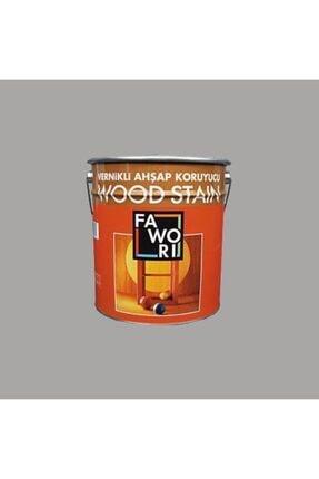 Fawori Wood Stain Vernikli Ahşap Koruyucu 12 Lt Sarı Meşe