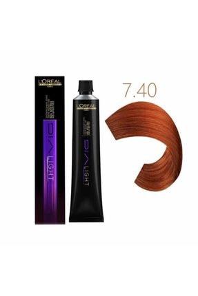 L'oreal Professionnel Dia Light 7.40 Saç Boyası 50 ml