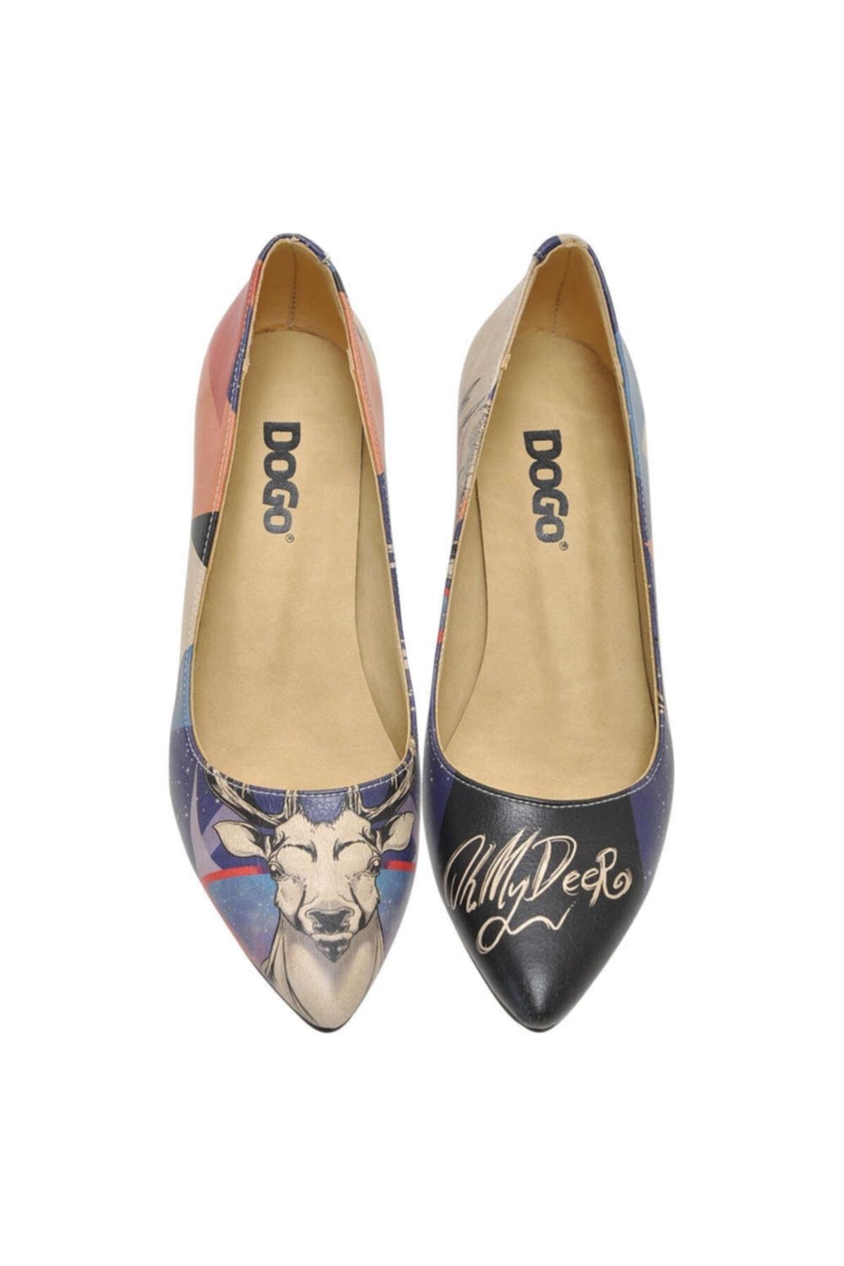Dogo Oh My Deer Kadın Topuklu Ayakkabı 1
