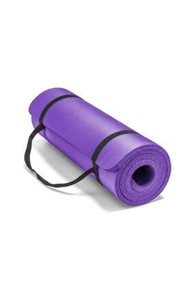 Povit 1,5 Cm Pilates Minderi-pilates Matı 15 Mm Mor Renk