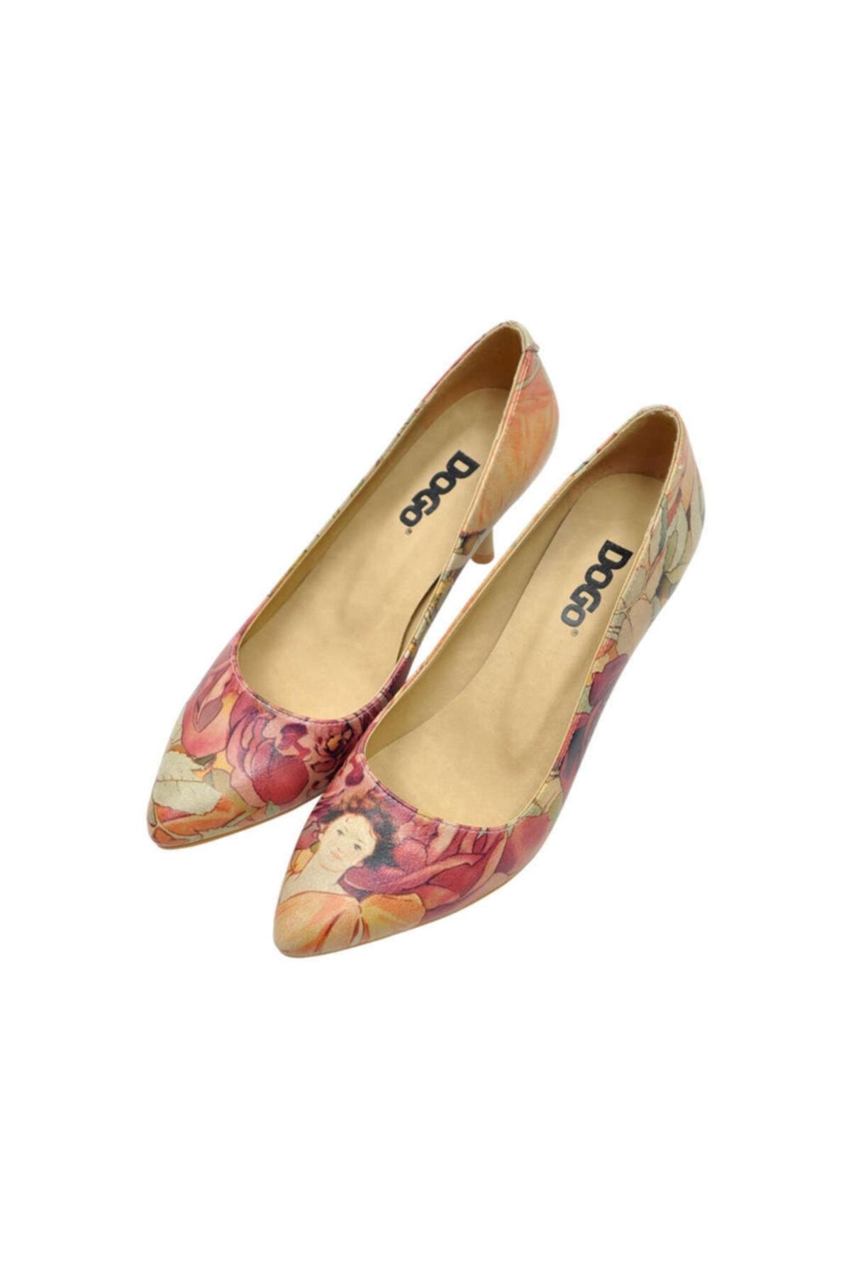 Dogo Rosegold Kadın Topuklu Ayakkabı 2