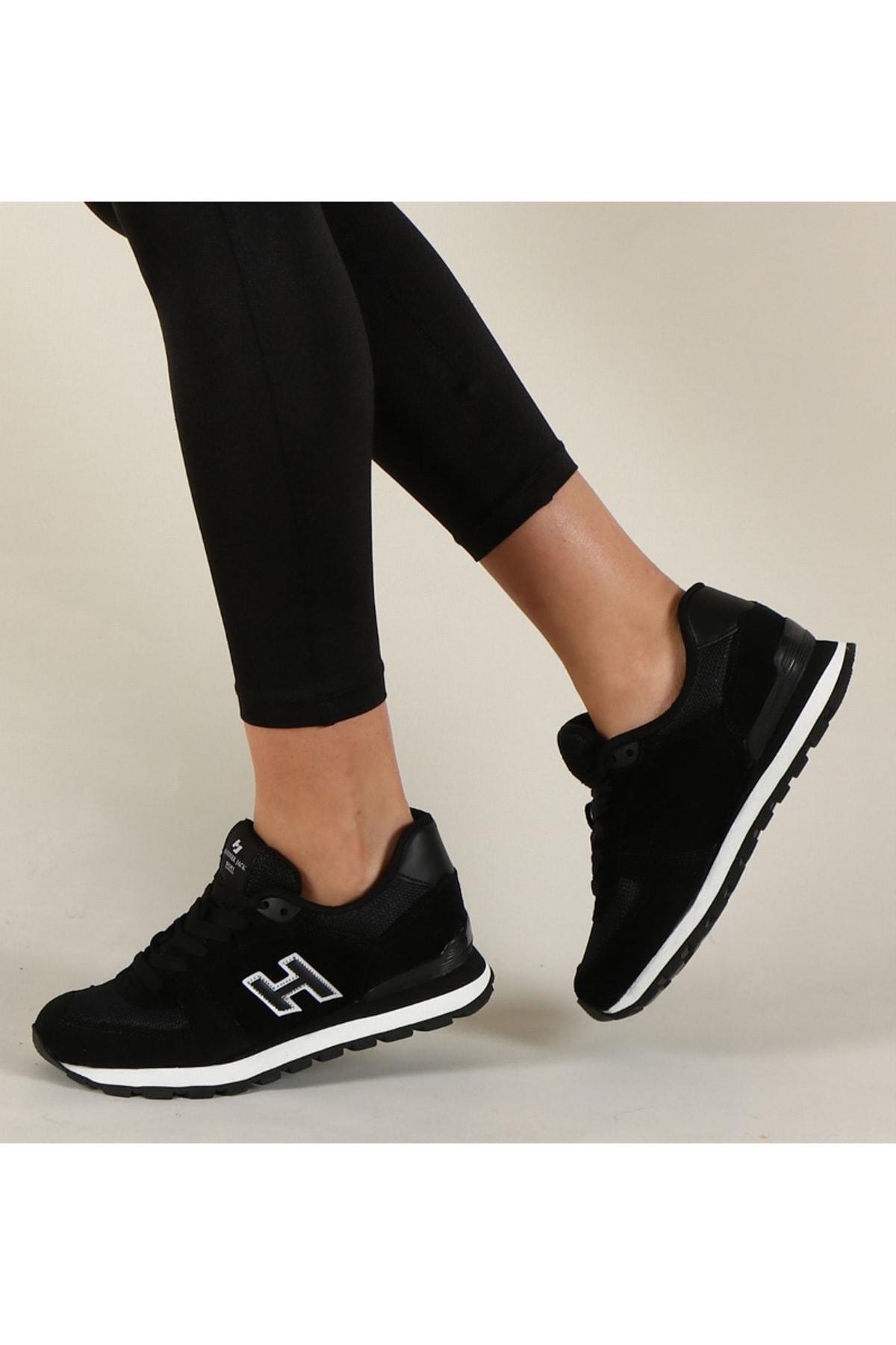 Hammer Jack Siyah Kadın Sneaker 10219250G 1