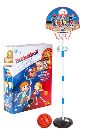 Arpaç Plastik Kutulu Ayaklı Basketbol Seti