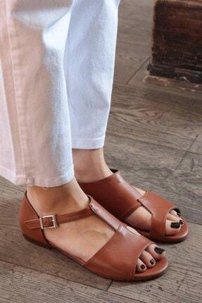 Mio Gusto Maria Taba Damalı Sandalet