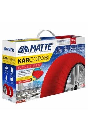 Matte Kar Çorabı - Active - 185 60 R14 Small