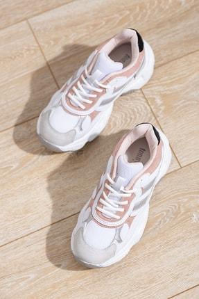 Tonny Black Kadın Spor Ayakkabı Beyaz Pudra Tb246