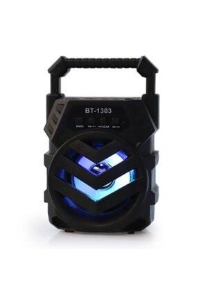 Platoon Bt-1303 Işıklı Bluetooth Hoparlör Ses Bombası