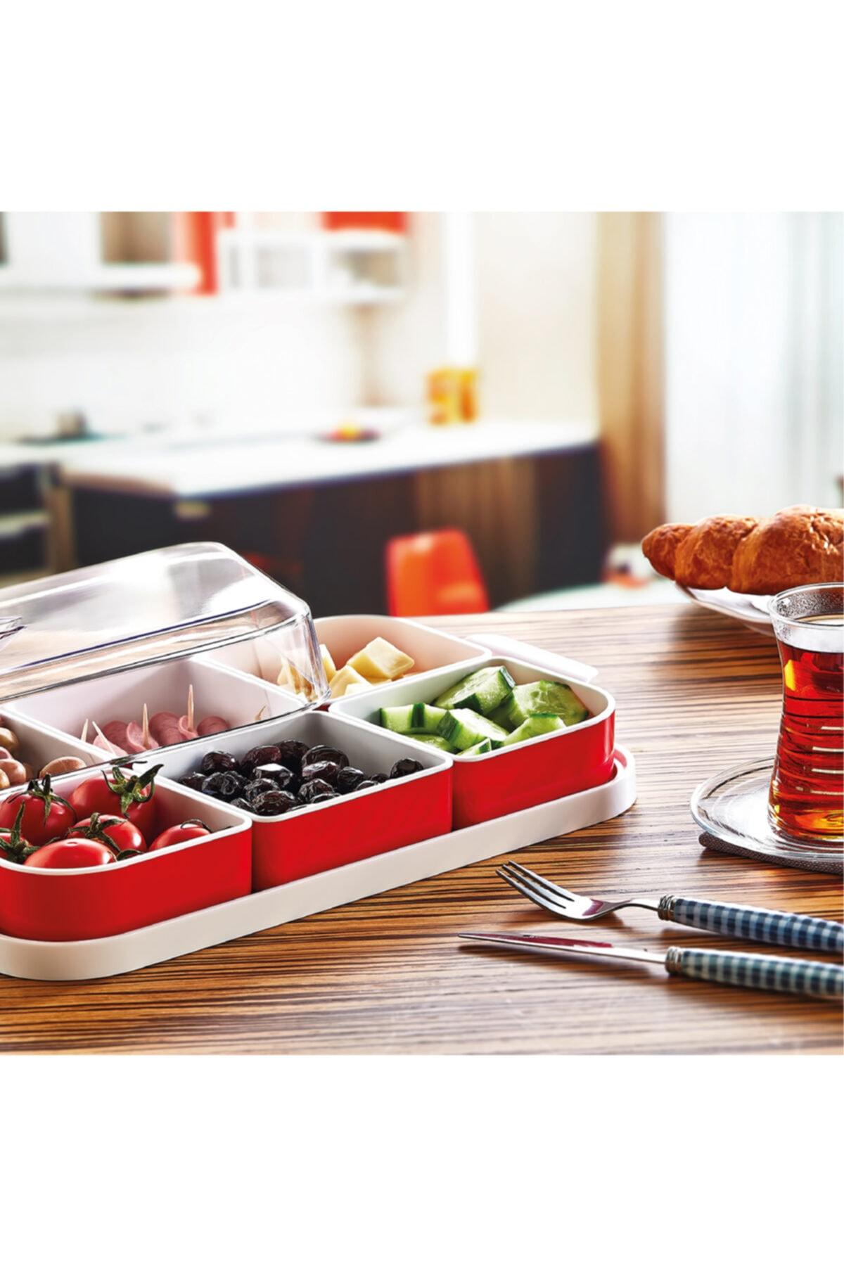PD-Home Kapaklı Kahvaltılık Seti 6 Parça 2