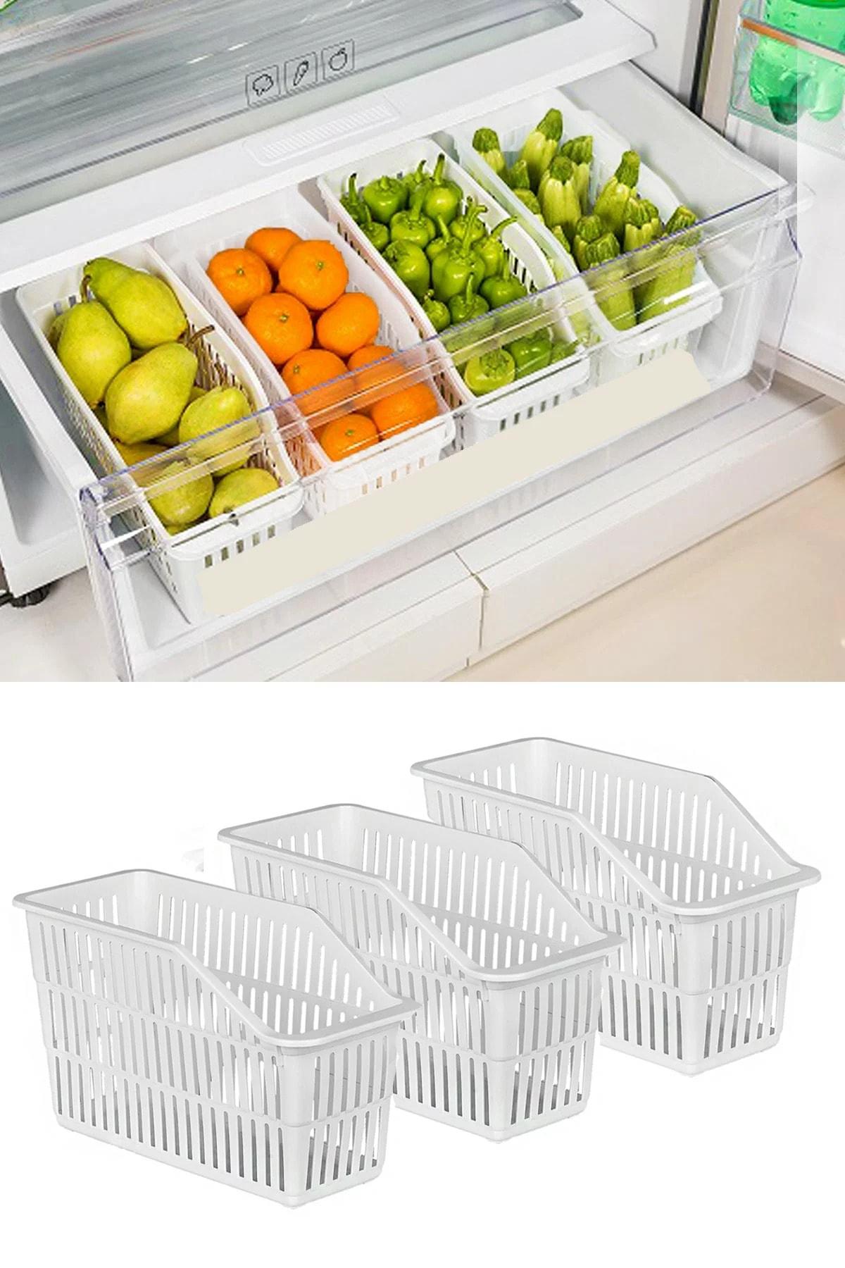 HOBBY LİFE 3 Adet Buzdolabı Düzenleyici 1