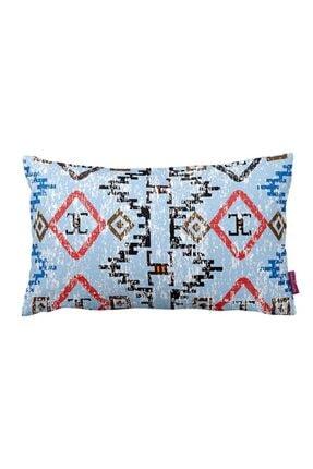 Mizalle Mızalle Home Geometrik Geçişli Dekoratif Yastık Kılıfı (33x57)