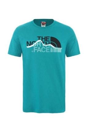 THE NORTH FACE Mountain Line Erkek T-Shirt Yeşil