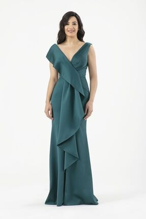 MAXXE Kadın Saten Elbise