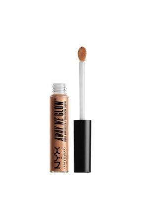 NYX Professional Makeup Likit Aydınlatıcı - Away We Glow Liquid Highlighter Gold Rush