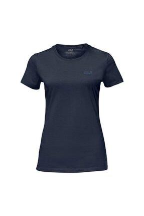 Jack Wolfskin Essential Kadın T-Shirt - 1805791-1010