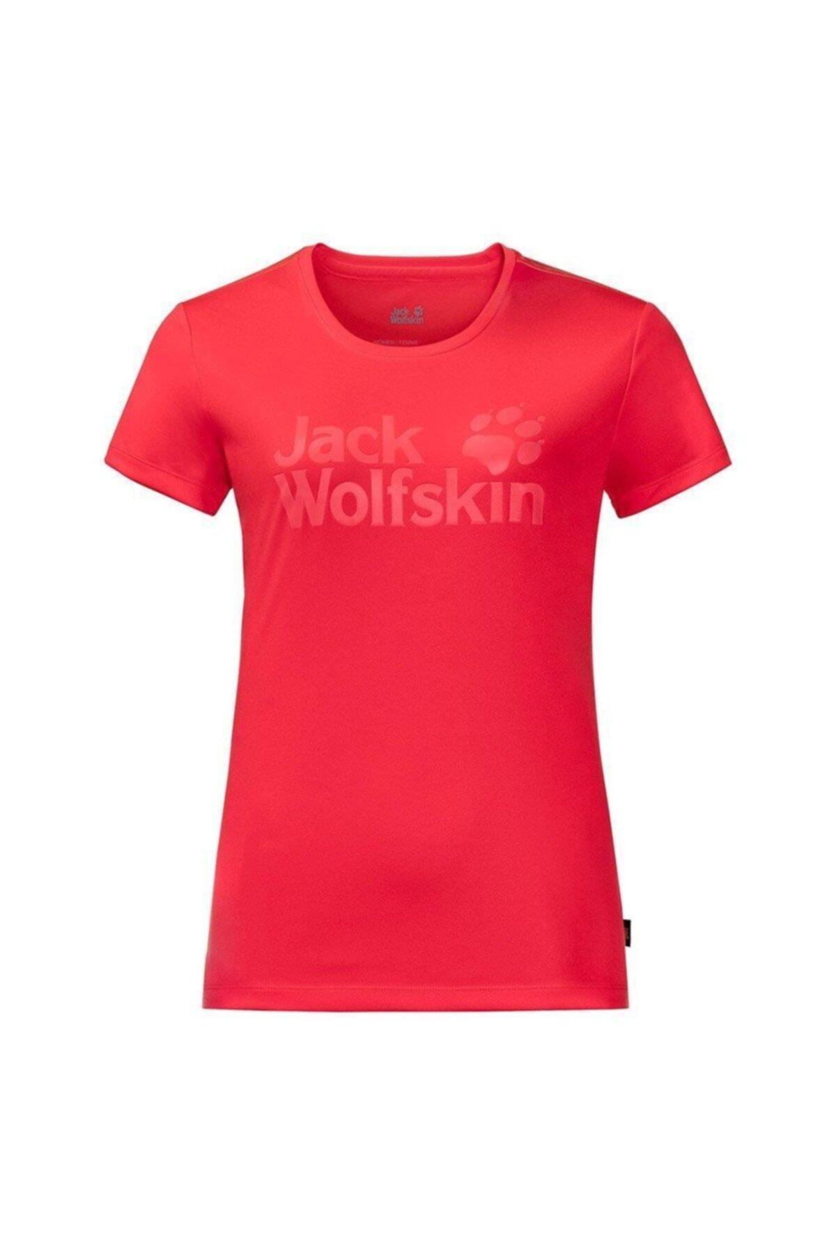 Jack Wolfskin Rock Chill Logo Kadın T-Shirt - 1805541-2058 1