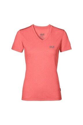 Jack Wolfskin Crosstrail Kadın T-Shirt - 1801692-2086