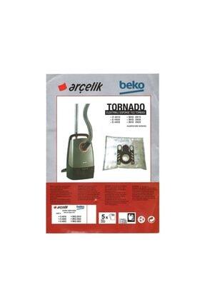 Arçelik Beko Tornado S 4910 Uyumlu Süpürge Bez Toz Torbası 5 Adet