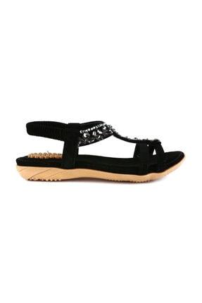 Guja Siyah Unisex Sandalet 20Y235-5