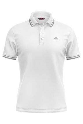 Kappa Rdk Erkek Polo T-shirt Santa Beyaz