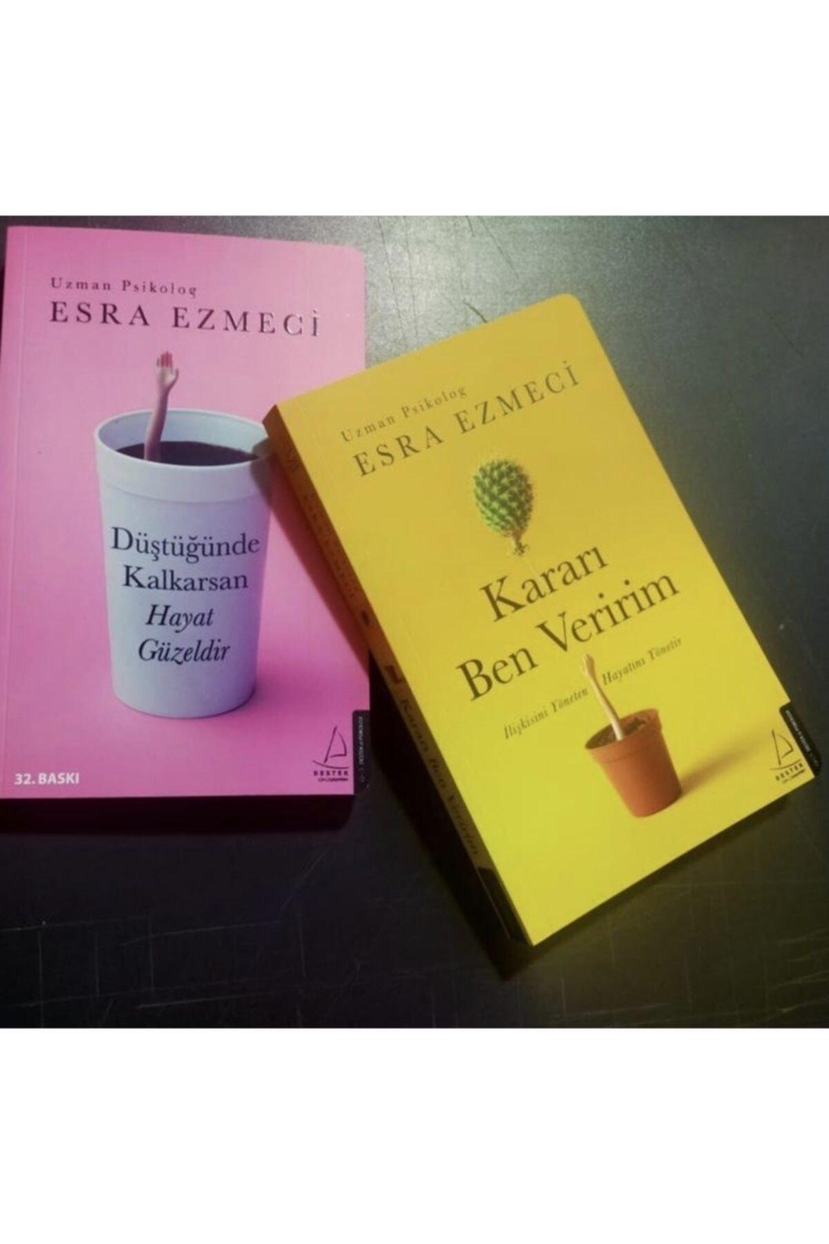 Destek Yayınları Kararı Ben Veririm, Düştüğünde Kalkarsan Hayat Güzeldir Esra Ezmeci 2 Kitap Takım 1