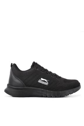 Slazenger Zırcon Koşu & Yürüyüş Kadın Ayakkabı Siyah / Siyah
