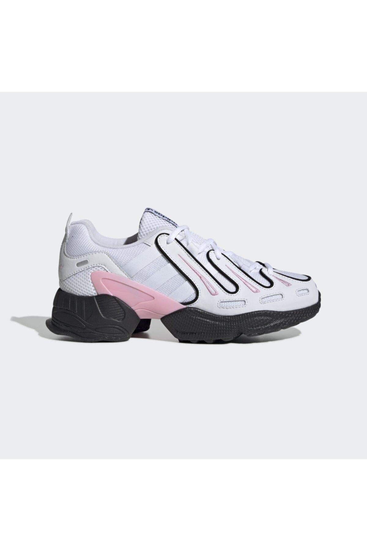 adidas Kadın Beyaz Gri Eqt Gazelle Günlük Spor Ayakkabı 1
