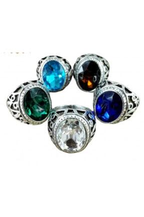 TRUE Erkek Yüzüğü 1 Adet Mavi