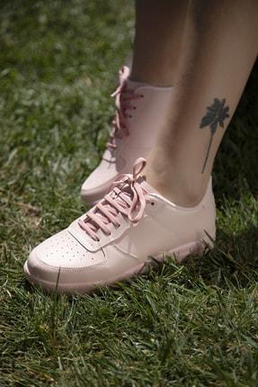 Ayakkabı Modası Pudra Kadın Spor Ayakkabı 4000-20-101001